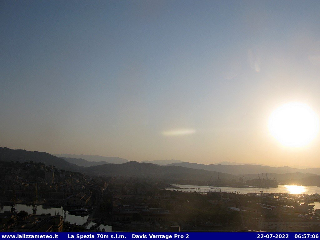 Porto La Spezia - Webcam