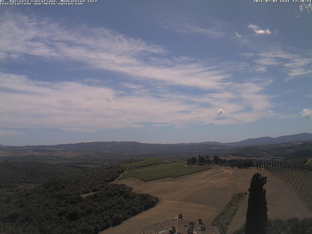 Webcam Camigliano, Montalcino - Siena
